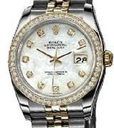 劳力士(Rolex)日志型116243-63603白色贝母表盘