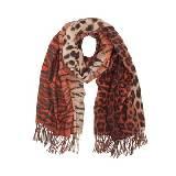 Mulberry虎纹针织围巾