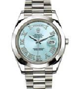 劳力士(Rolex)星期日历型218206-83216镶钻罗马时标