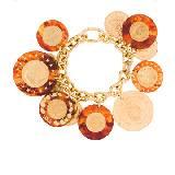 普拉达(Prada)2012年CHARMS系列钱币环绕手链