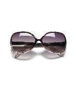 MANGO紫褐渐变太阳眼镜