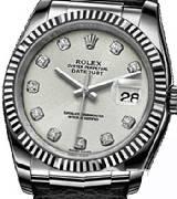 劳力士(Rolex)日志型116139 银盘镶钻