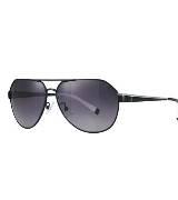 CK Calvin Klein灰色金属框眼镜