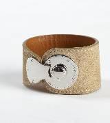 拉夫·劳伦Ralph Lauren金属扣饰肌色手环