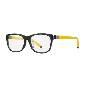 CK Calvin Klein黄色方框眼镜