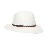 LACOSTE法国鳄鱼2013春夏白色植物纤维女士草帽