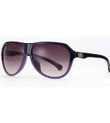 Calvin Klein Jeans渐变紫色圆形状眼镜