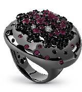 德米亚尼Damiani紫色戒指