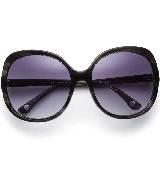 Michael Kors黑色圆形大框太阳镜