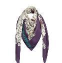 Louis Vuitton 2013 Cruise系列紫色围巾
