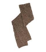 Kookai蔻凯咖色针织围巾