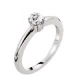 万宝龙Solitaire Ring白金钻石婚戒