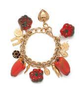 Dolce & Gabbana金色蔬菜手链