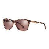 CK Calvin Klein棕色豹纹眼镜