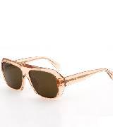 Celine赛琳2013春夏粉色透明直边框太阳镜