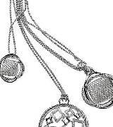 David Yurman银与钻石材质实用款项链系列