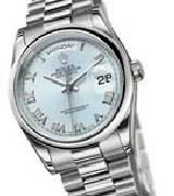 劳力士(Rolex)星期日历型118206 冰蓝盘