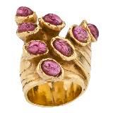 Yves Saint Laurent红宝石指环