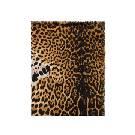 Yves Saint Laurent豹纹流苏方巾