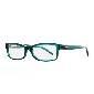 LACOSTE法国鳄鱼绿色矩形框眼镜