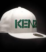 Kenzo合作款白色卡车帽