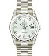 劳力士(Rolex)星期日历型118296-83206银色表盘