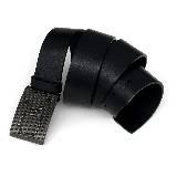 Calvin Klein jeans字母扣饰黑腰带