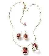 Dolce & Gabbana2014年高级珠宝 红宝石三件套