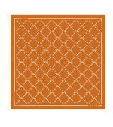 Longchamp珑骧LM复刻版橙色丝巾