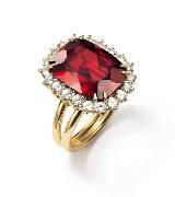 Dolce & Gabbana2014年高级珠宝 红宝石戒指
