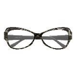 Yves Saint Laurent豹纹光学镜架