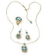 Dolce & Gabbana2014年高级珠宝 蓝宝石三件套