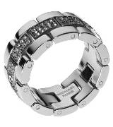Michael Kors表带式钻石戒指