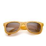 MANGO琥珀黄折叠墨镜
