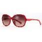 Calvin Klein Jeans红色圆形状眼镜