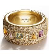 德米亚尼Damiani金色钻石戒指