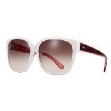 LACOSTE法国鳄鱼L!VE红白色猫眼型眼镜