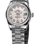 劳力士(Rolex)日志型179136 粉色珍珠母表盘