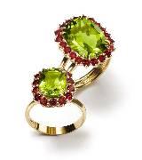 Dolce & Gabbana2014年高级珠宝 绿宝石戒指