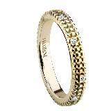 德米亚尼Damiani钻石镶嵌指环