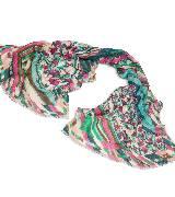 Kenzo彩色印花围巾