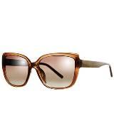 CK Calvin Klein棕色猫眼框眼镜