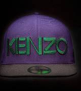 Kenzo合作款紫色卡车帽