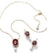 Dolce & Gabbana2014年高级珠宝 红宝石珍珠三件套