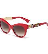 Dolce & Gabbana杜嘉班纳2014春夏系列红色太阳镜