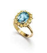 Dolce & Gabbana2014年高级珠宝 蓝宝石戒指