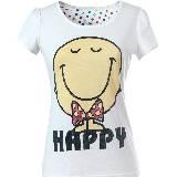 Etam Mr.Happy白色T恤