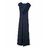 GIADA迦达瓦蓝色古典长裙