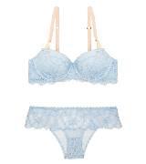 Stella McCartney斯特拉·麦卡特2014春夏系列蓝色花纹内衣