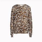 斯特拉-麦卡特尼(Stella McCartney)2013年春豹纹长袖T恤
